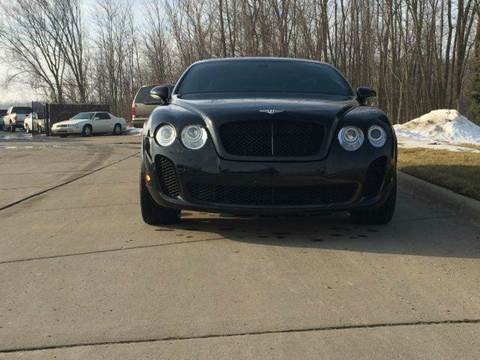 2009 Bentley Continental GT for sale in Lenox MI