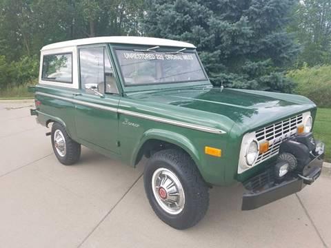 1974 Ford Bronco for sale in Lenox MI