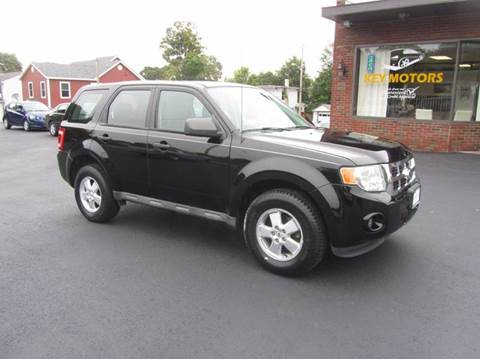 2010 Ford Escape for sale at Key Motors in Mechanicville NY