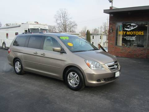 2005 Honda Odyssey for sale at Key Motors in Mechanicville NY