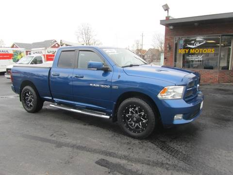 2011 RAM Ram Pickup 1500 for sale at Key Motors in Mechanicville NY