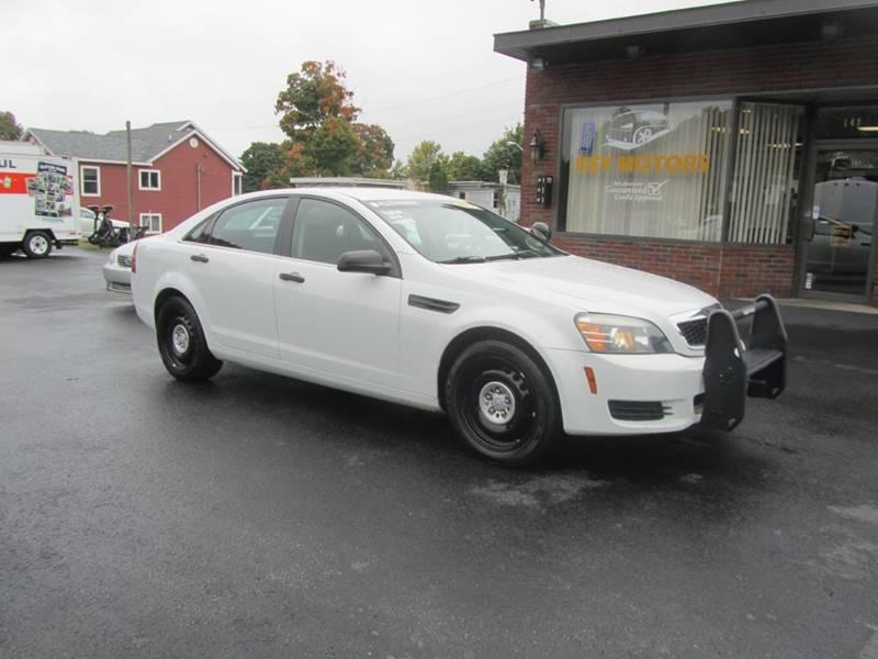 2012 Chevrolet Caprice Police 4dr Sedan W 1sb In Mechanicville Ny