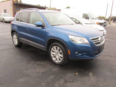 2009 Volkswagen Tiguan for sale at Key Motors in Mechanicville NY