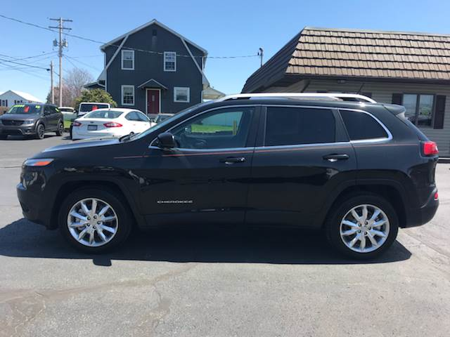 2014 jeep cherokee 4x4 limited 4dr suv in reedsville pa
