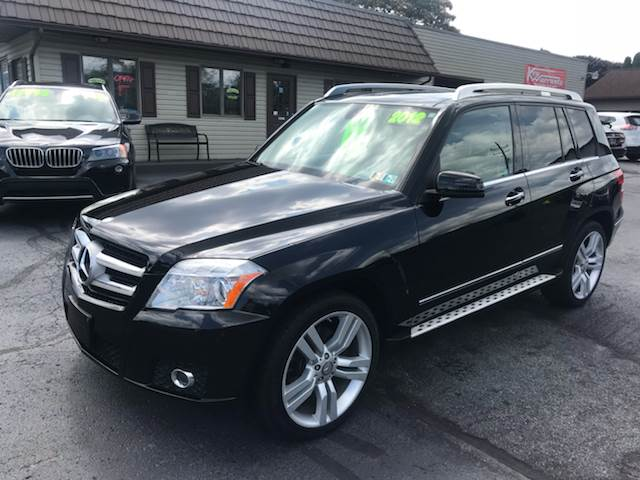 2012 Mercedes Benz Glk Awd Glk 350 4matic 4dr Suv In Reedsville Pa