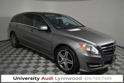 Mercedes Of Seattle >> 2012 Mercedes Benz R Class For Sale In Seattle Wa