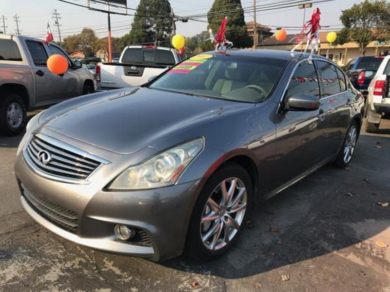 2011 Infiniti G37 Sedan Sport Appearance Edition 4dr Sedan In