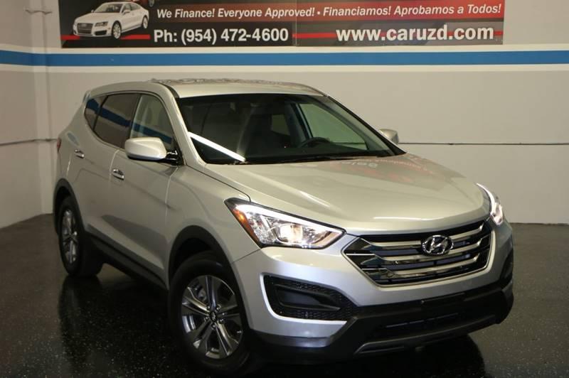 2016 Hyundai Santa Fe Sport For Sale At Car Uzd In Davie FL