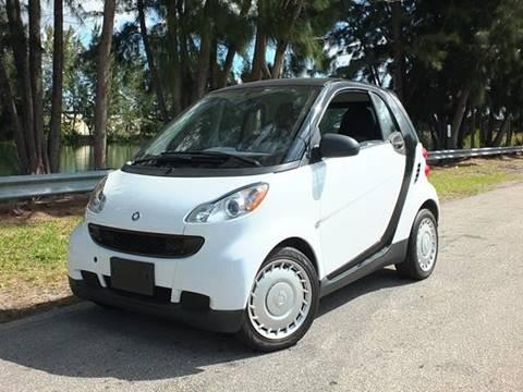 2012 Smart fortwo for sale in Davie, FL