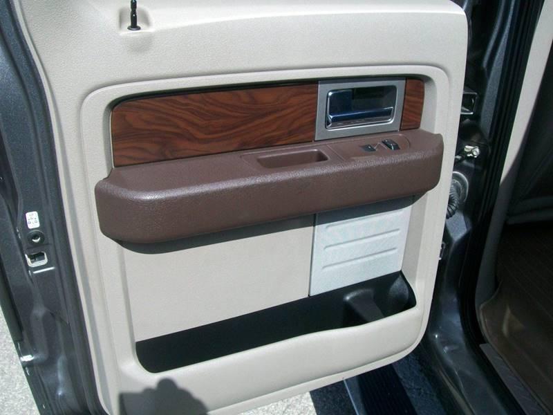 2010 Ford F-150 4x4 Platinum 4dr SuperCrew Styleside 6.5 ft. SB - Creston IA