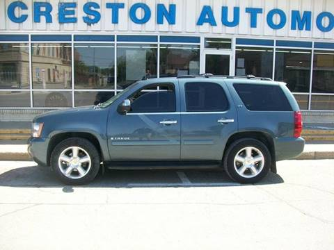 2008 Chevrolet Tahoe for sale in Creston, IA