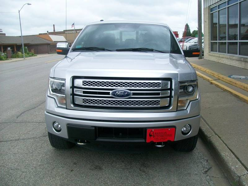 2014 Ford F-150 4x4 Platinum 4dr SuperCrew Styleside 5.5 ft. SB - Creston IA