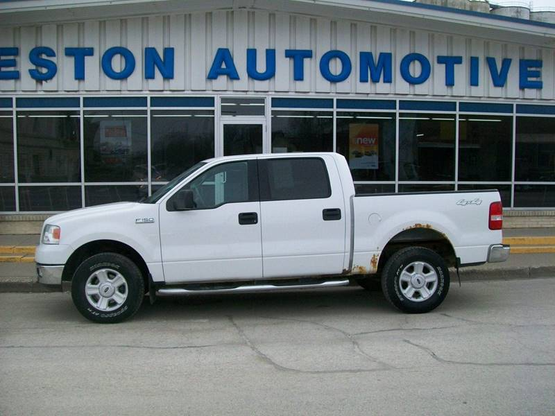 2004 Ford F 150 4dr Supercrew Xlt 4wd Styleside 5 5 Ft Sb In