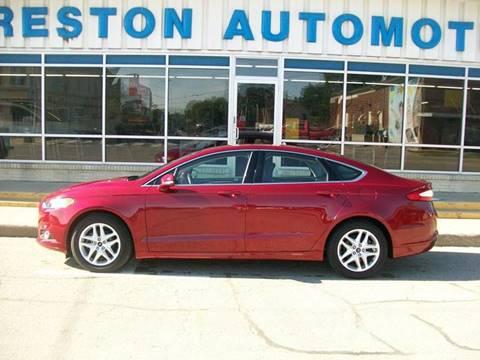 2014 Ford Fusion for sale in Creston, IA