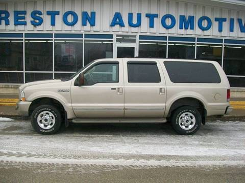 2004 Ford Excursion for sale in Creston IA