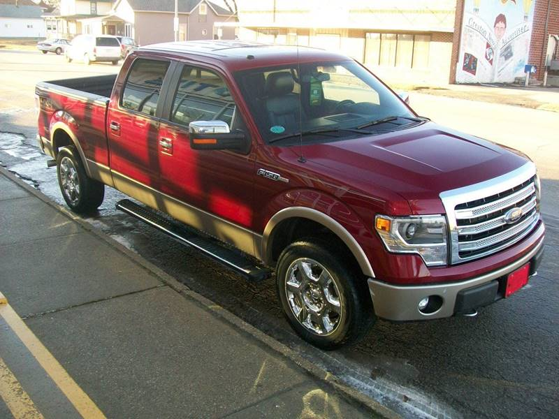 2014 Ford F-150 4x4 Lariat 4dr SuperCrew Styleside 6.5 ft. SB - Creston IA