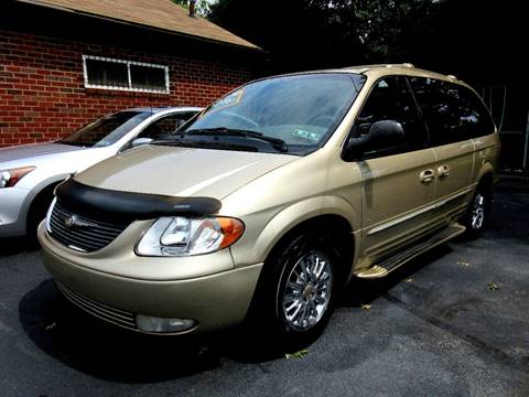 2001 Chrysler Town and Country for sale in Glenolden, PA