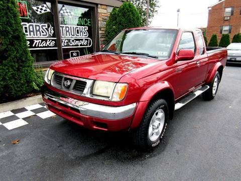 2000 Nissan Frontier for sale in Glenolden, PA