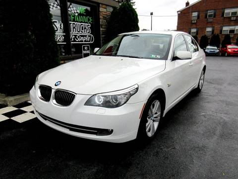2009 BMW 5 Series for sale in Glenolden, PA