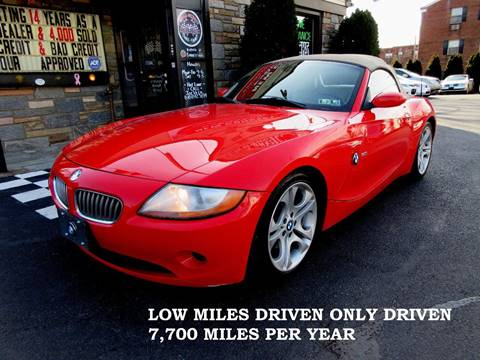 bmw z4 for sale in pennsylvania carsforsale com rh carsforsale com BMW 325I Manual 2004 BMW Z4 Grey