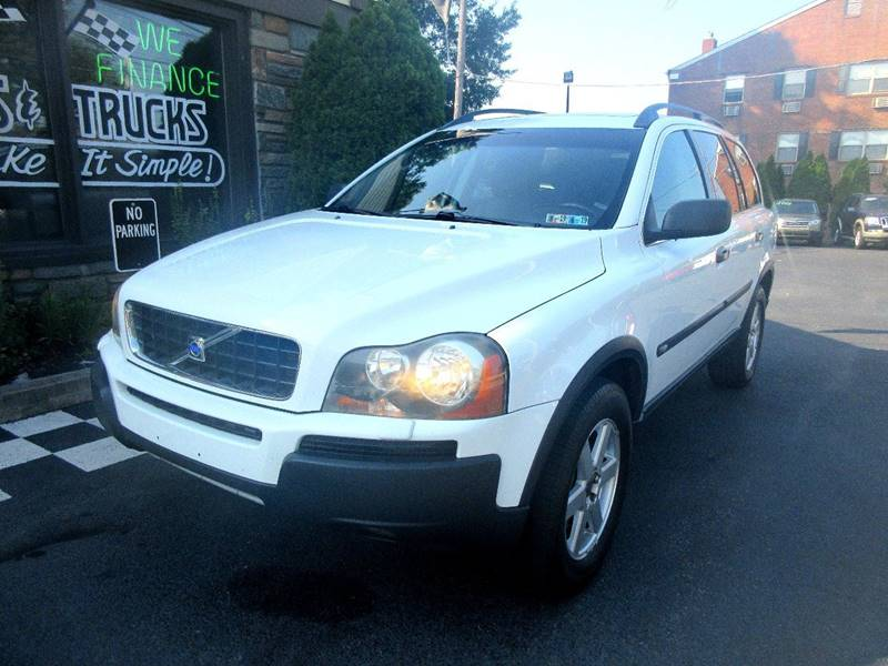 2004 Volvo Xc90 Awd 4dr 25t Turbo Suv In Glenolden Pa New Concept