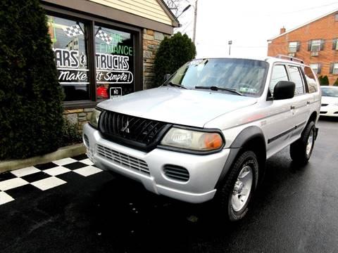2002 Mitsubishi Montero Sport for sale in Glenolden, PA