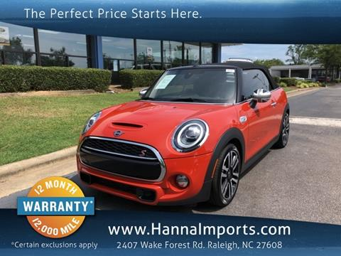 2019 MINI Convertible for sale in Raleigh, NC