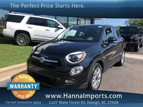 2016 FIAT 500X for sale in Raleigh, NC