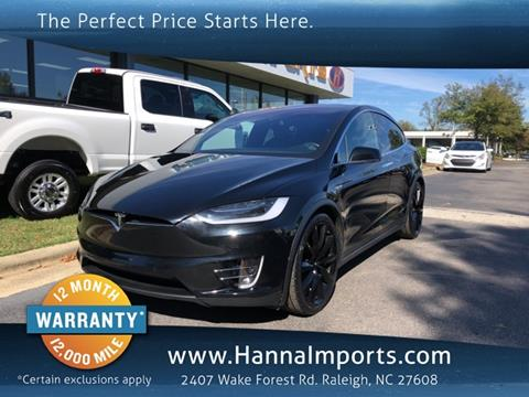 2016 Tesla Model X for sale in Raleigh, NC