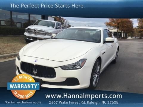 Used Maserati Price >> Used Maserati For Sale In North Carolina Carsforsale Com