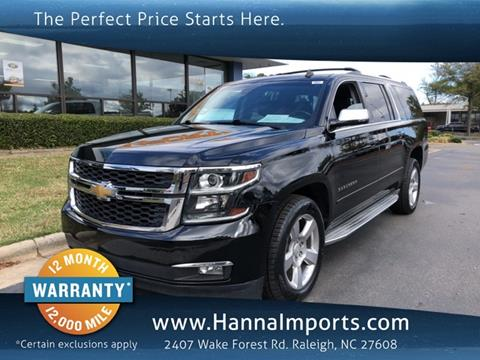 2015 Chevrolet Suburban for sale in Raleigh, NC
