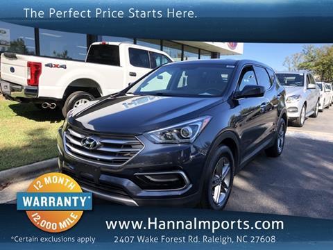 2017 Hyundai Santa Fe Sport for sale in Raleigh, NC