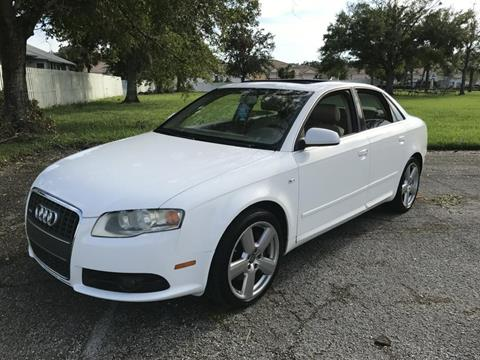 2008 Audi A4 for sale in New Port Richey, FL