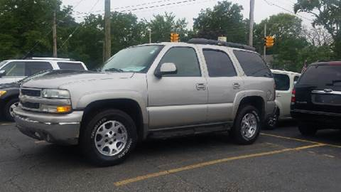 2004 Chevrolet Tahoe for sale at DALE'S AUTO INC in Mt Clemens MI
