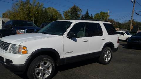 2004 Ford Explorer for sale at DALE'S AUTO INC in Mt Clemens MI