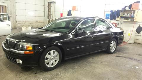 2002 Lincoln LS for sale at DALE'S AUTO INC in Mt Clemens MI