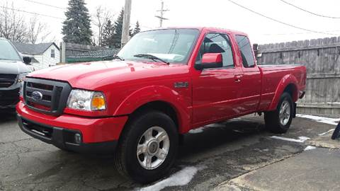 2007 Ford Ranger for sale at DALE'S AUTO INC in Mt Clemens MI