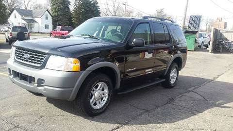 2002 Ford Explorer for sale at DALE'S AUTO INC in Mount Clemens MI