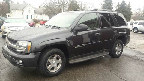 2003 Chevrolet TrailBlazer for sale at DALE'S AUTO INC in Mt Clemens MI