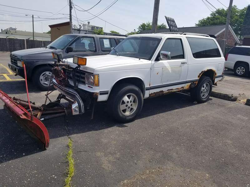 1989 Chevrolet S-10 Blazer for sale at DALE'S AUTO INC in Mount Clemens MI