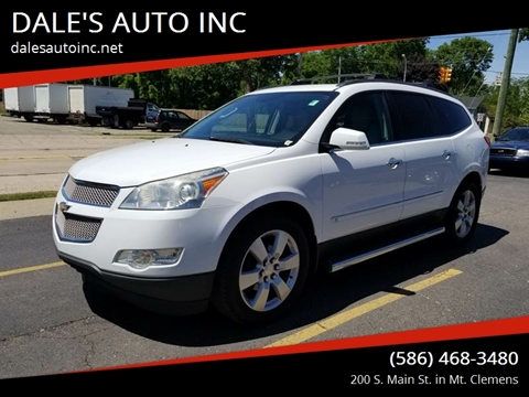 2009 Chevrolet Traverse for sale at DALE'S AUTO INC in Mt Clemens MI