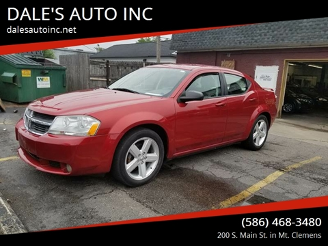 2008 Dodge Avenger for sale at DALE'S AUTO INC in Mt Clemens MI