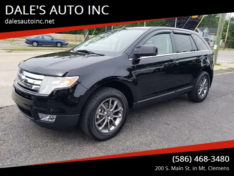2008 Ford Edge for sale at DALE'S AUTO INC in Mt Clemens MI