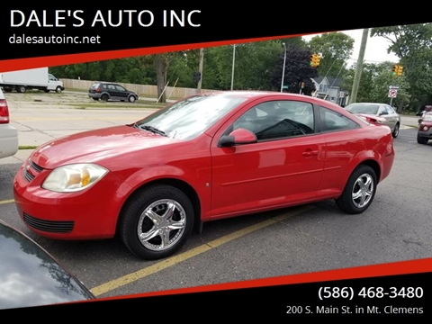 2007 Chevrolet Cobalt for sale at DALE'S AUTO INC in Mt Clemens MI