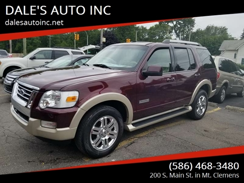 2006 Ford Explorer for sale at DALE'S AUTO INC in Mt Clemens MI