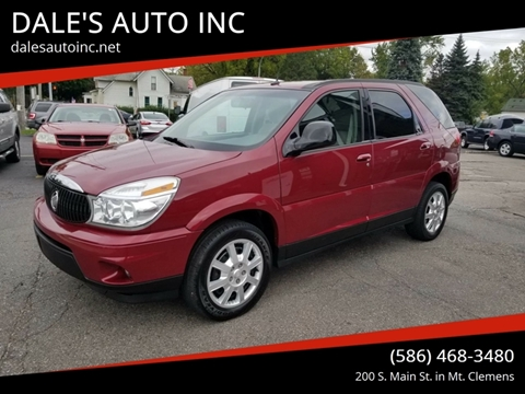 2006 Buick Rendezvous for sale at DALE'S AUTO INC in Mt Clemens MI