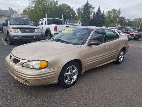 2002 Pontiac Grand Am for sale at DALE'S AUTO INC in Mt Clemens MI