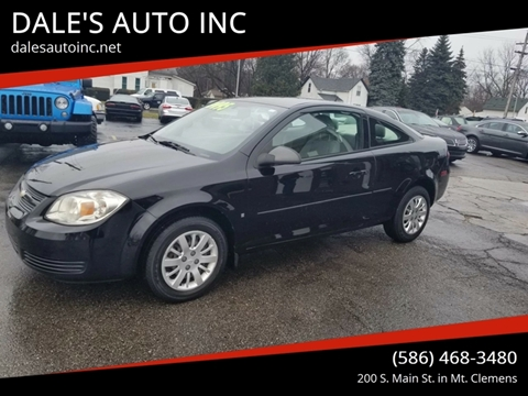 2009 Chevrolet Cobalt for sale at DALE'S AUTO INC in Mt Clemens MI