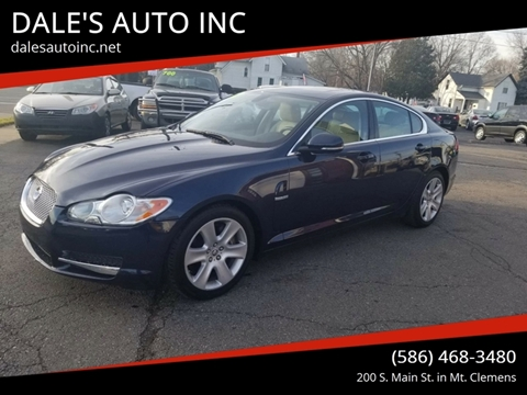 2011 Jaguar XF for sale at DALE'S AUTO INC in Mt Clemens MI