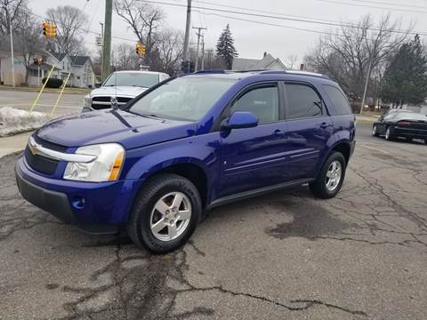 2006 Chevrolet Equinox for sale at DALE'S AUTO INC in Mt Clemens MI